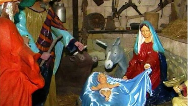 Presepe In Cartapesta cassibile
