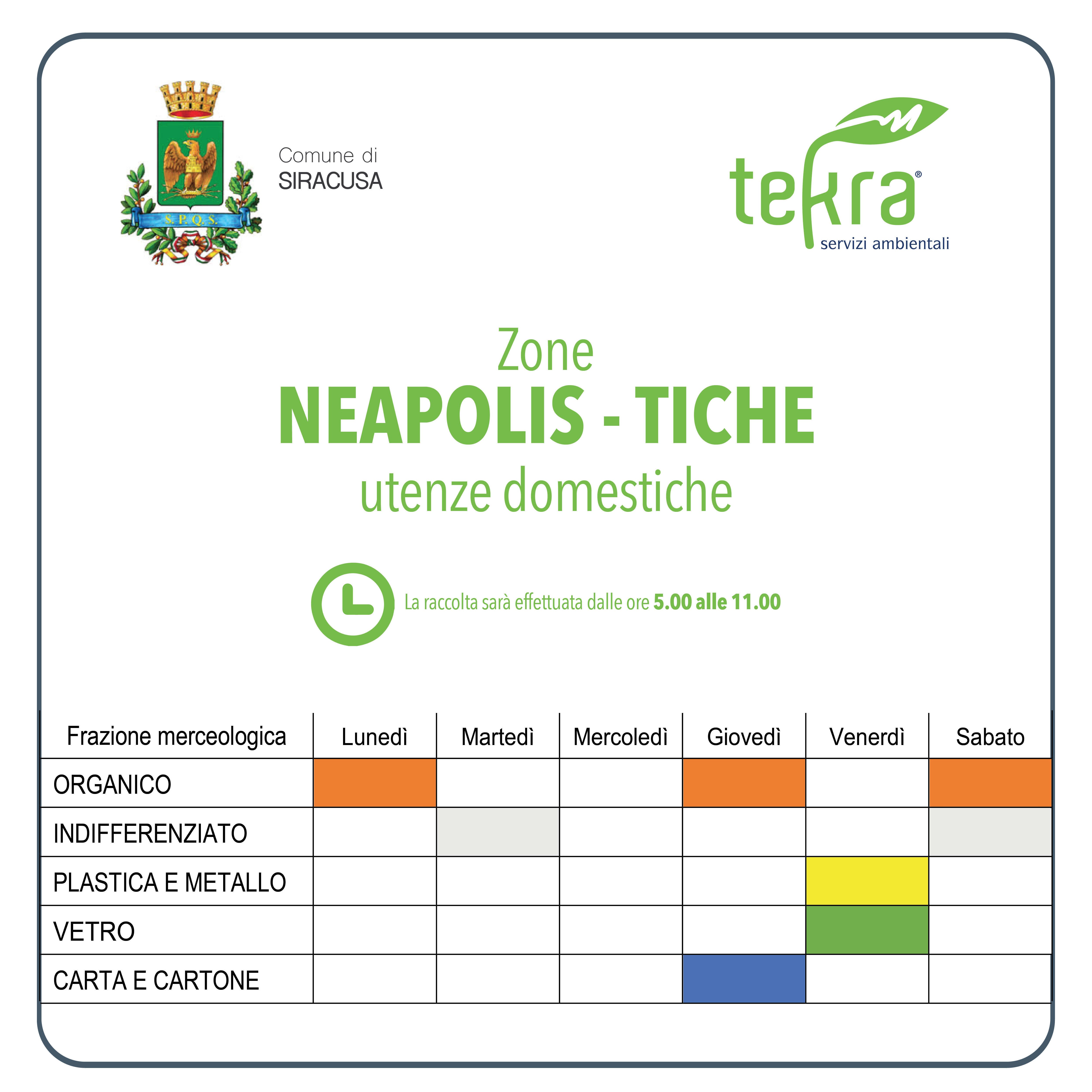 TEKRA social Siracusa Neapolis Tiche UD
